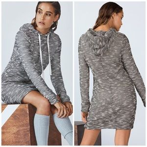 Fabletics Knitted Hoodie Sweatshirt Dress